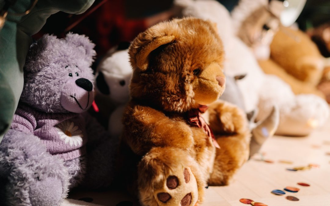 Old stuffed animals that have sentimental value
